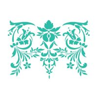 Stamperia Stencil G cm. 21x29,7 Flowers & Leaves Decor