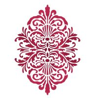 Stamperia Stencil G cm. 21x29.7 Old Lace Oval (Pizzo ovale)