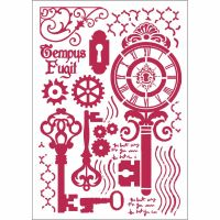 Stamperia Stencil G cm. 21x29,7 Keys and locks