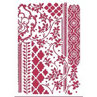 Stamperia Stencil D cm. 21x29,7 Mixed tapestries