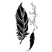 Stamperia Thick stencil 12x25 cm Feathers
