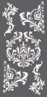 Stamperia Thick stencil 12x25 cm - Decorations