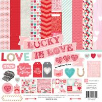Echo Park Lucky in Love 12x12 Collection Kit