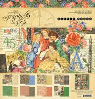 Graphic 45 Little Women 12x12 Collection Pack