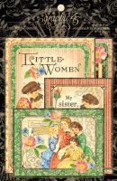 Graphic 45 Little Women Ephemera Cards