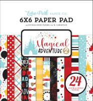 Echo Park Magical Adventure 2 6x6 Paper Pad