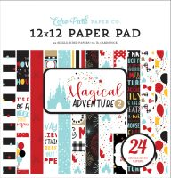 Echo Park Magical Adventure 2 12X12 Paper Pad