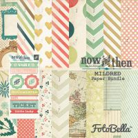 My Minds Eye Now & Then - Mildred - Paper Bundle