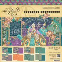 Graphic 45 Midnight Masquerade 12x12 Pad