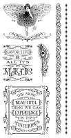 Graphic 45 Midnight Masquerade Cling Stamp 3