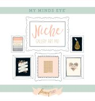 My Minds Eye Niche - Fancy That Gold Foiled Frameables