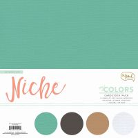 My Minds Eye Niche - On Trend Cardstock Collection Pack