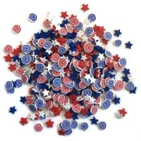 Buttons Galore & More Sprinkletz - Firecrackers