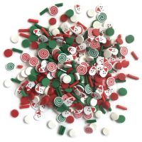 Buttons Galore Sprinkletz - Saint Nick