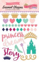 Echo Park Once Upon A Time-Princess Enamel Shapes