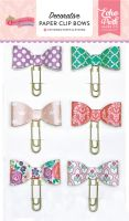 Echo Park Once Upon A Time-Princess Decorative Paper Clip Bows
