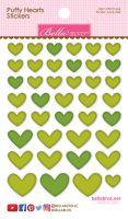 Bella Blvd Puffy Hearts Stickers - Pickle Juice Mix