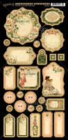 Graphic 45 Portrait of a Lady Journaling Chipboard