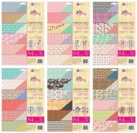 Prima Marketing Julie Nutting Jan - Dec A4 Paper Bundle (6 paper pads)