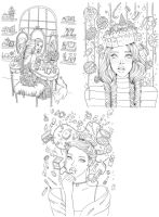 Prima Marketing Prima Princess Stamp Bundle - Summer 2017 (Gussy Up, Sweet Tooth, Glamour)