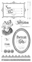 Graphic 45 Portrait of a Lady Cling Stamp 3