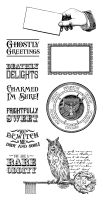 Graphic 45 Rare Oddities 2 Cling Stamp Set