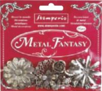 Stamperia Metal fantasy selection Flower - 18 pieces