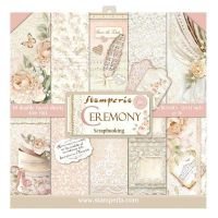 Stamperia 12x12 Paper Pad - Ceremony (10 Double Sided Sheets)