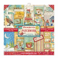 Stamperia 12x12 Paper Pad - Patch Work (10 Double Sided Sheets)