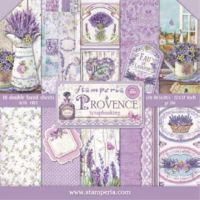 Stamperia 12x12 Paper Pad - Provence (10 Double Sided Sheets)
