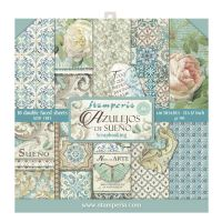 Stamperia Block 10 sheets 30.5x30.5 (12