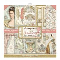 Stamperia 12x12 Paper Pad - Princess  (10 Double Sided Sheets)