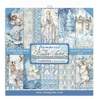 Stamperia 12x12 Paper Pad - Winter Tales (10 Double Sided Sheets)