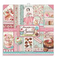 Stamperia 12x12 Paper Pad - Sweety (10 Double Sided Sheets)