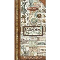 Stamperia Collectables 10 sheets cm 15x30,5 (6