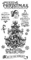 Graphic 45 Cling Stamp Set St. Nicholas 2