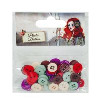 Santoro London Willow Plastic Buttons