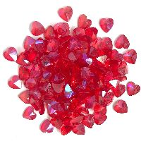 Buttons Galore & More Sparkletz - Red Hearts