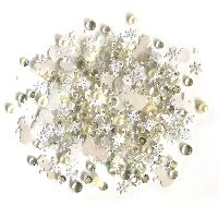 Buttons Galore & More Sparkletz - Snowdrift