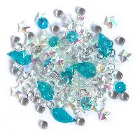 Buttons Galore & More Sparkletz - Salt Water