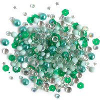 Buttons Galore & More Sparkletz - Aquamarine