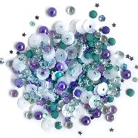 Buttons Galore & More Sparkletz - Saliors Sky