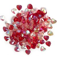 Buttons Galore & More Sparkletz - Love Hearts