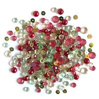 Buttons Galore & More Sparkletz - Home Spun Holiday