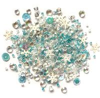 Buttons Galore & More Sparkletz - Snow Crystals