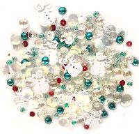 Buttons Galore & More Sparkletz - Frosty Friends