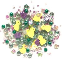 Buttons Galore & More Sparkletz - Happy Easter