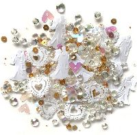 Buttons Galore & More Sparkletz - Just Married