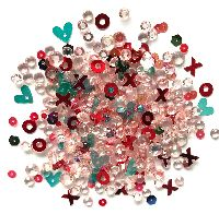 Buttons Galore & More Sparkletz - Hugs & Kisses
