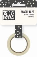 Simple Stories Carpe Diem - Bliss Black Speckle Washi Tape